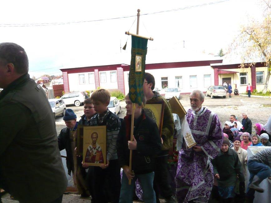 Полевские верующие прошли крестным ходом в день Святого Георгия (фоторепортаж) (фото) - фото 1