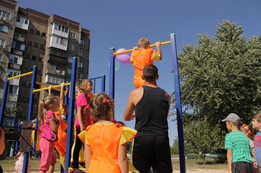 Добропольским детям подарили еще одну площадку (ФОТО), фото-9