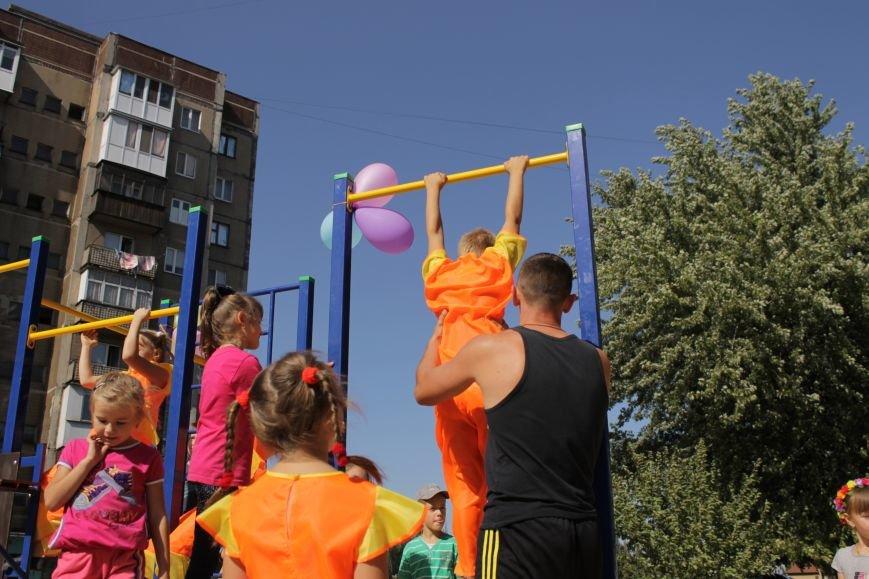 Добропольским детям подарили еще одну площадку (ФОТО), фото-10
