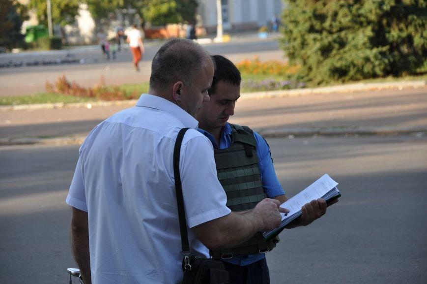 «Общегородское собрание» в Краматорске закончилось приездом милиции (ВИДЕО), фото-7