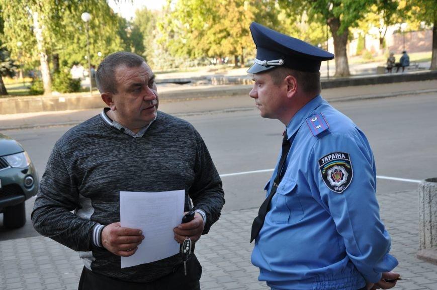 «Общегородское собрание» в Краматорске закончилось приездом милиции (ВИДЕО), фото-5