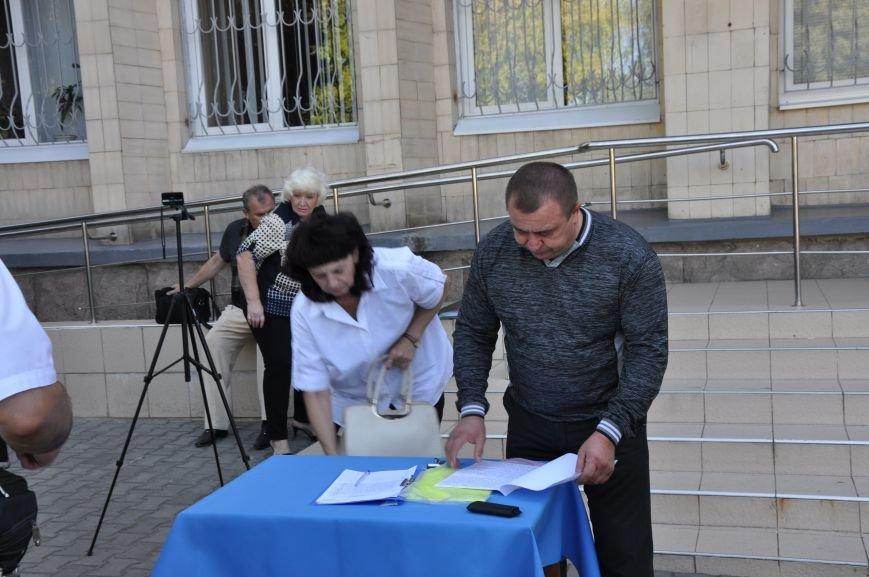 «Общегородское собрание» в Краматорске закончилось приездом милиции (ВИДЕО), фото-1