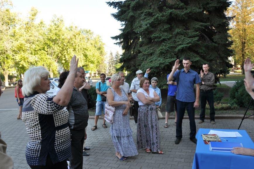 «Общегородское собрание» в Краматорске закончилось приездом милиции (ВИДЕО), фото-4