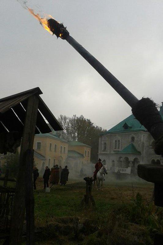 Город Пушкин стал местом съемок сериала «История русского бунта» (фото) - фото 3