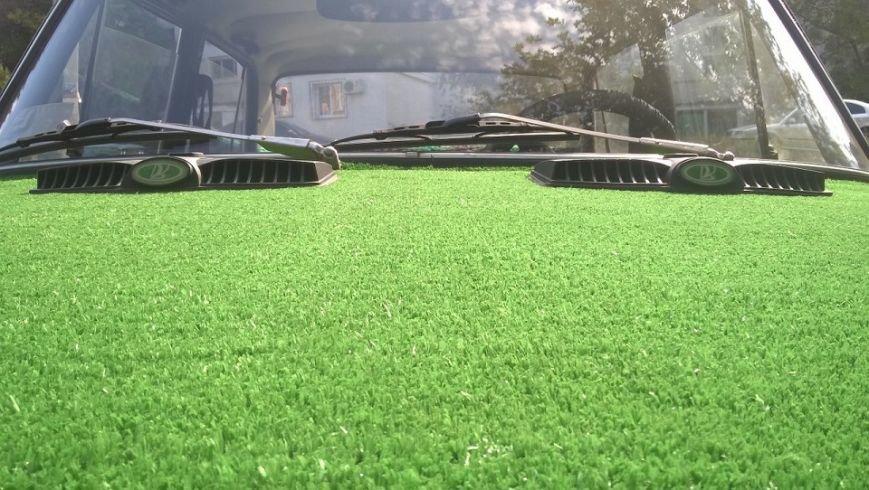 По Севастополю катается «поросший травой» ВАЗ (ФОТОФАКТ) (фото) - фото 3