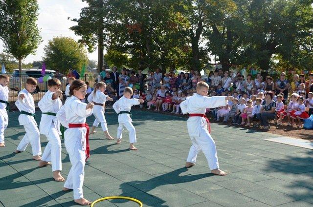 У маленьких жителей села на Николаевщине появилась новая спортивная площадка (ФОТО) (фото) - фото 7
