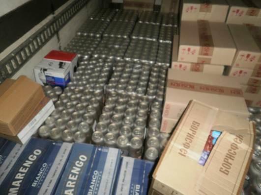 До «ДНР» не доехали две фуры с алкоголем (ФОТО) (фото) - фото 2