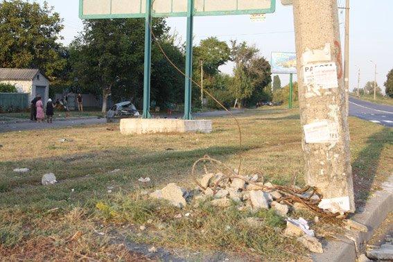 Смертельне ДТП на Полтавщині: одна людина загинула, двоє у лікарні (фото) - фото 1