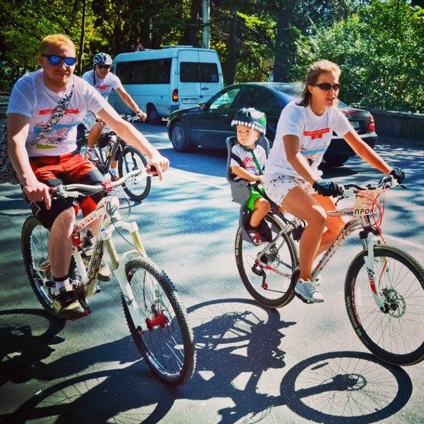 В Ялте прошёл второй общегородской велопробег (фото) - фото 2