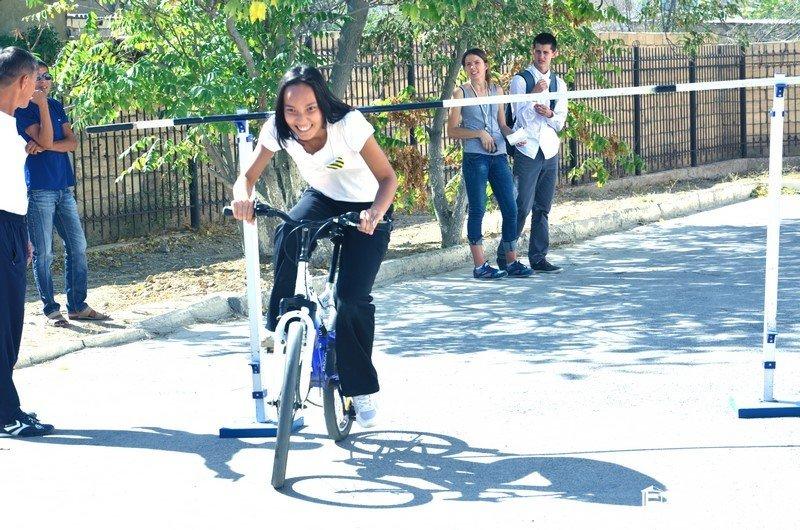 Студенты колледжа Актау прияли участие в туристской эстафете (фото) - фото 4