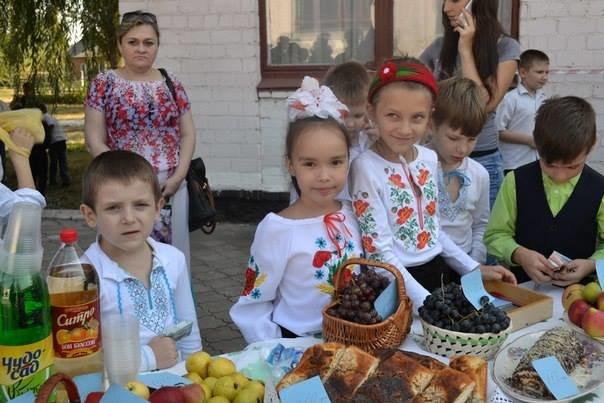 В криворожской школе семиклассники выиграли конкурс на лучший каравай (ФОТО), фото-1
