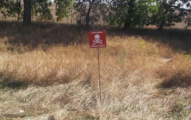 В Донецкой области начата маркировка заминированных участков (фото) - фото 2