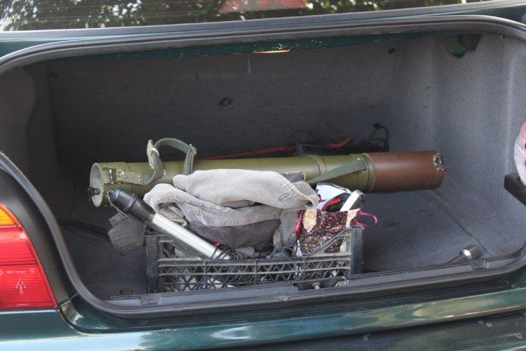 В Днепродзержинске задержали автомобили с оружием и коноплей, фото-3