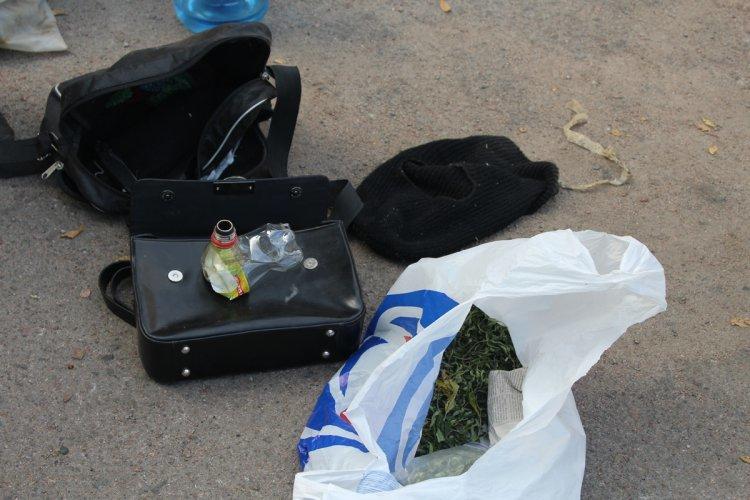 В Днепродзержинске задержали автомобили с оружием и коноплей, фото-6