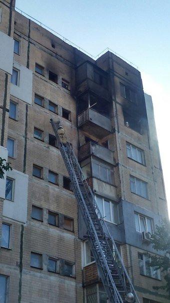 В Симферополе из горящей квартиры на 8-м этаже многоэтажки спасли двух человек (ФОТО) (фото) - фото 3