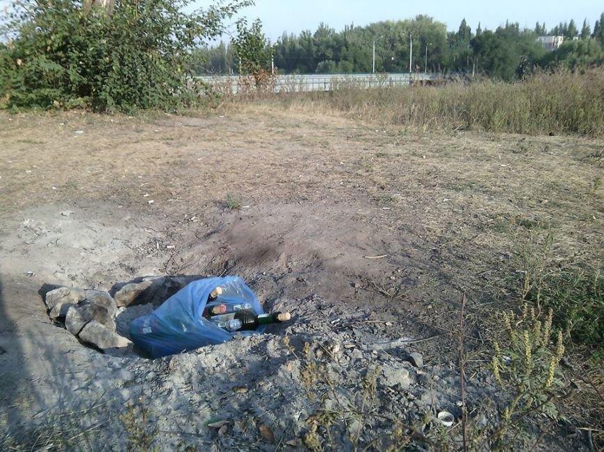 Криворожане отдохнули на чистой Соколовке, оставив после себя горы мусора (ФОТО), фото-2
