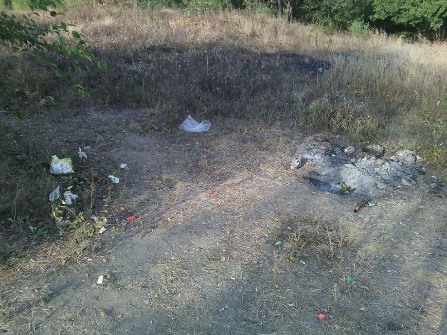 Криворожане отдохнули на чистой Соколовке, оставив после себя горы мусора (ФОТО), фото-4