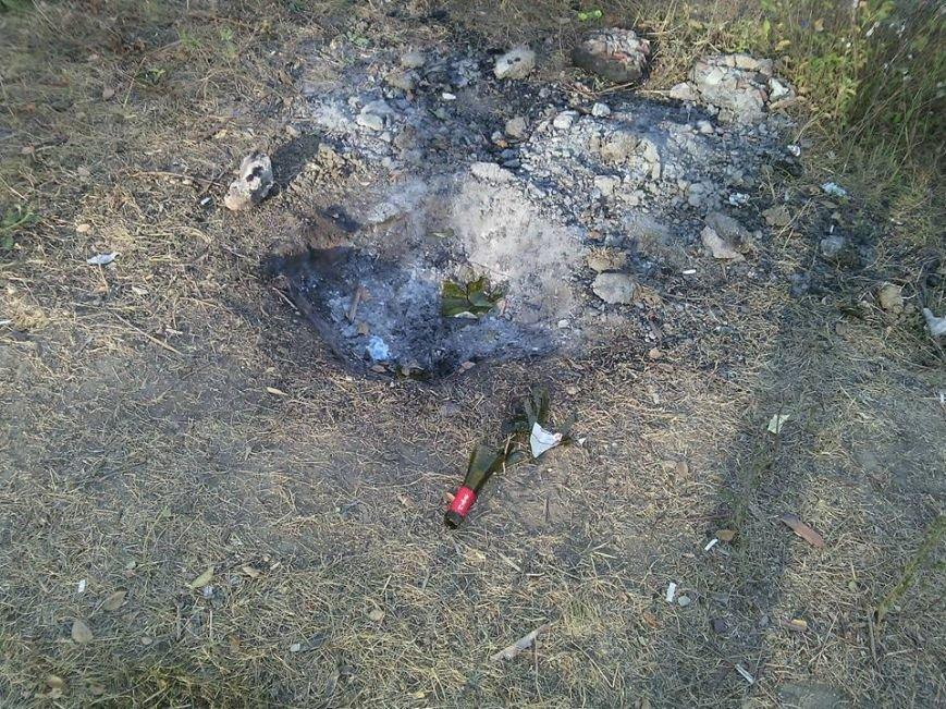 Криворожане отдохнули на чистой Соколовке, оставив после себя горы мусора (ФОТО), фото-3