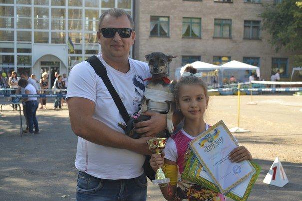 В Краматорске прошла выставка собак всех пород (фото) - фото 12