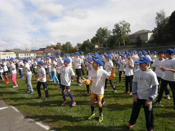 На Львівщині стартував соціальний фестиваль масового турніру  «Відкриті уроки футболу» (ФОТО) (фото) - фото 1