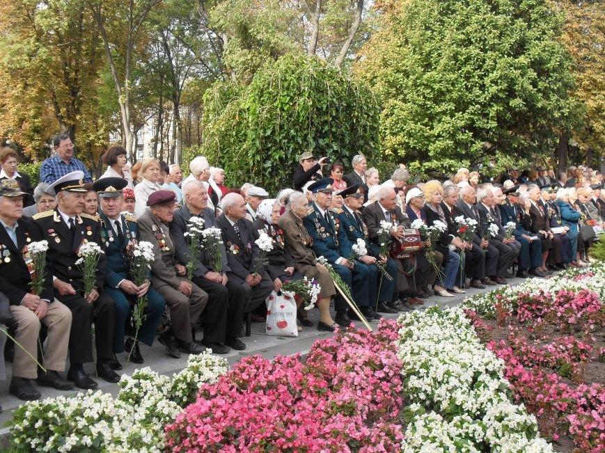 В Кременчуге поблагодарили за освобождение города в 43-ем живых и погибших воинов (ФОТО) (фото) - фото 2