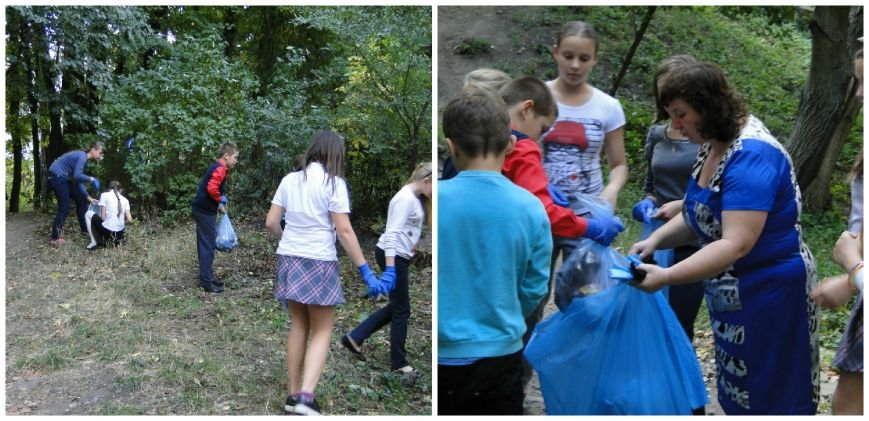 Гуртківці Центру по роботі з дітьми та підлітками нещодавно провели акцію «Чисте місто» (фото) - фото 3
