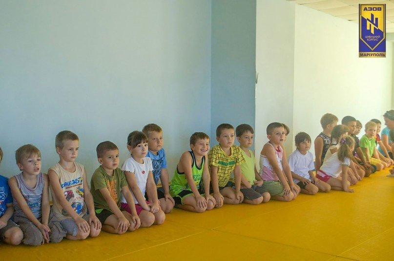 Стартовали бесплатные тренировки по дзюдо в Мариуполе (ФОТО) (фото) - фото 1