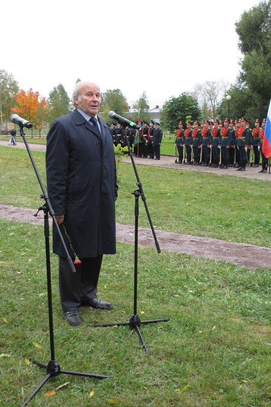 На Софийской площади в городе Пушкине открыли памятник правнуку Николая I, фото-7