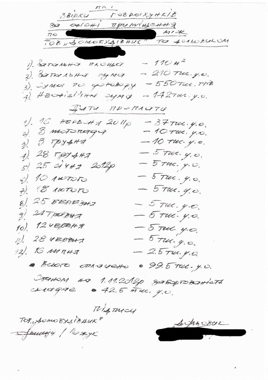 Більше трьох мільйонів гривень пройшли повз колектив тернопільського «Домобудівника» (фото) - фото 1