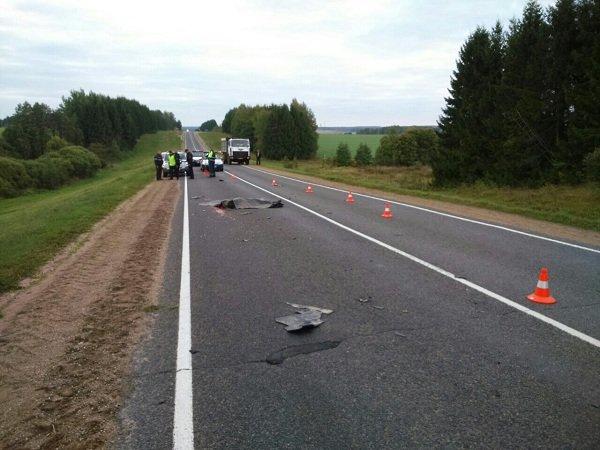 В Ошмянском районе нашли водителя, который насмерть сбил пешехода и скрылся (Фото 18+) (фото) - фото 2