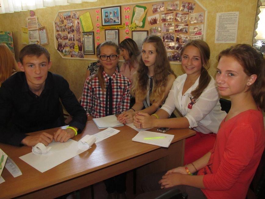 Юные журналисты Доброполья обсудили тему «Молодёжь и СМИ: глаза в глаза», фото-4