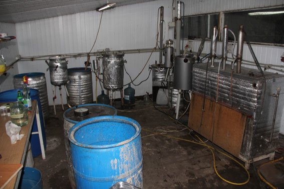 Подпольный алко-завод работал в Чернигове (фото) - фото 1