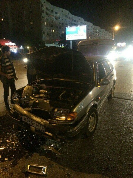 В Заволжском районе столкнулись «четырнадцатая» и «Форд Фокус», фото-1