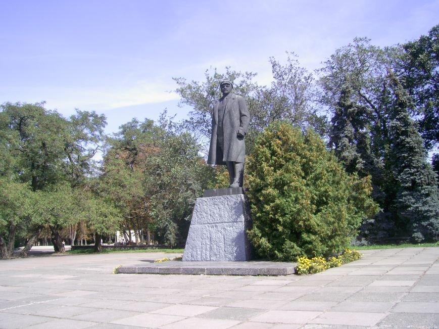 Лубни._Пам'ятник_В.І.Леніну