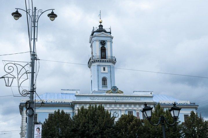 Зламався 70-річний механізм годинника на Чернівецькій Ратуші (ФОТО), фото-1