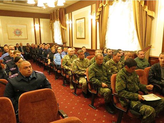 Як у Франківську правоохоронців із зони АТО зустрічали (ФОТО) (фото) - фото 2