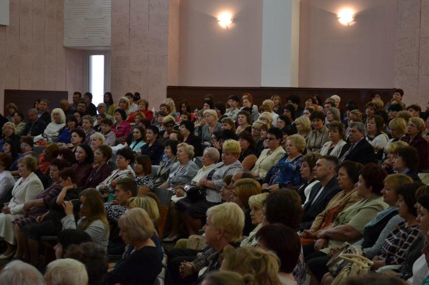 В Днепродзержинске накануне Дня работников образования чествовали педагогов, фото-4