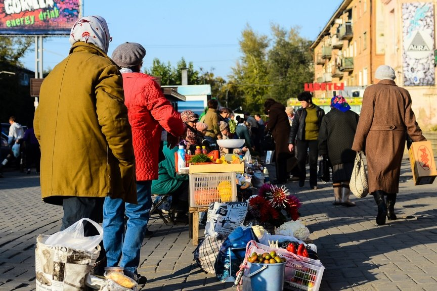 Война со стихийной торговлей в Усть-Каменогорске