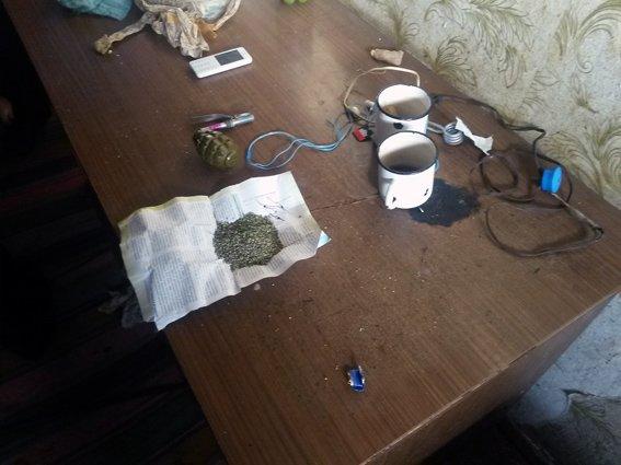 В Красноармейском районе находчивый внук решил припрятать боевую гранату и наркотики ... у бабушки (фото) - фото 1