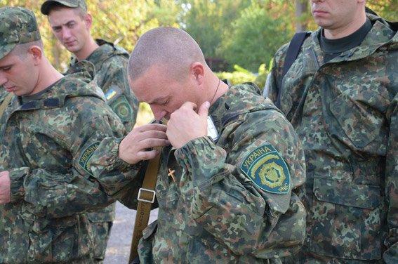 Николаевские милиционеры отправились на Донбасс (ФОТО) (фото) - фото 5