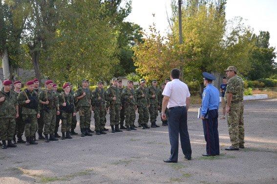 Николаевские милиционеры отправились на Донбасс (ФОТО) (фото) - фото 1