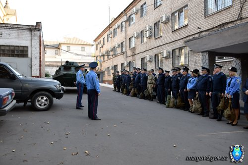 В день дисциплины мариупольскую милицию подняли по тревоге (ФОТО), фото-8