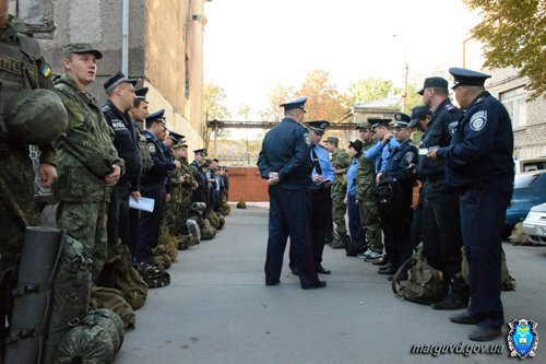 В день дисциплины мариупольскую милицию подняли по тревоге (ФОТО), фото-5