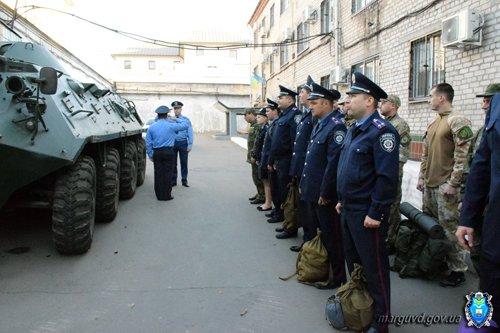 В день дисциплины мариупольскую милицию подняли по тревоге (ФОТО), фото-2
