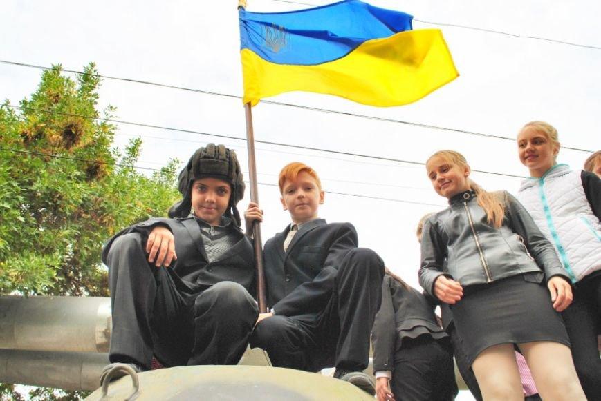 В Николаеве школьники собрали 20 тысяч гривен на ремонт БТРа (ФОТО) (фото) - фото 6