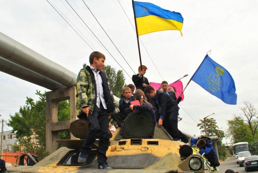 В Николаеве школьники собрали 20 тысяч гривен на ремонт БТРа (ФОТО) (фото) - фото 9