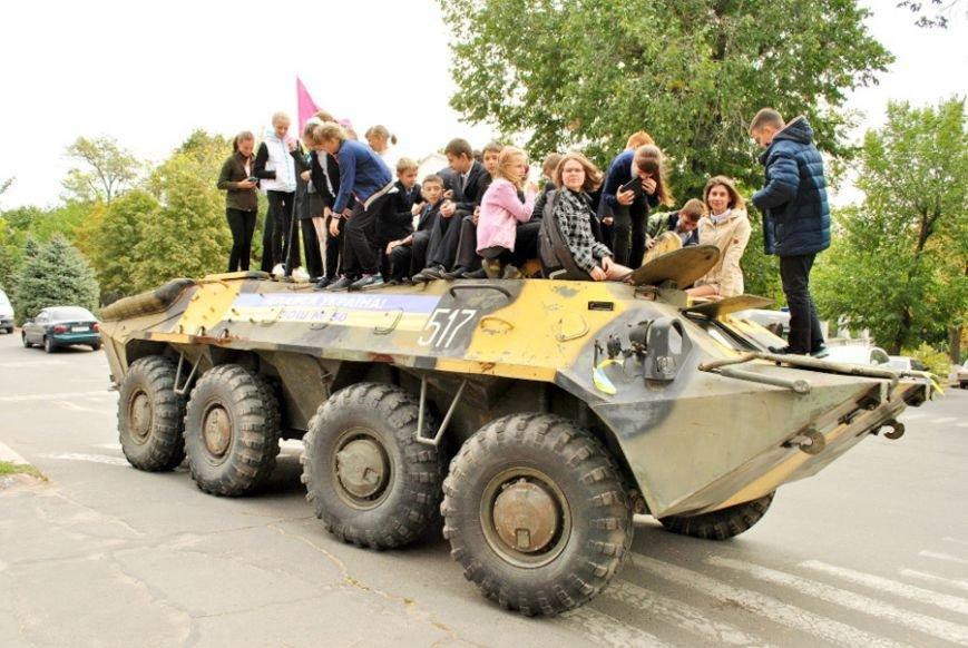В Николаеве школьники собрали 20 тысяч гривен на ремонт БТРа (ФОТО) (фото) - фото 1