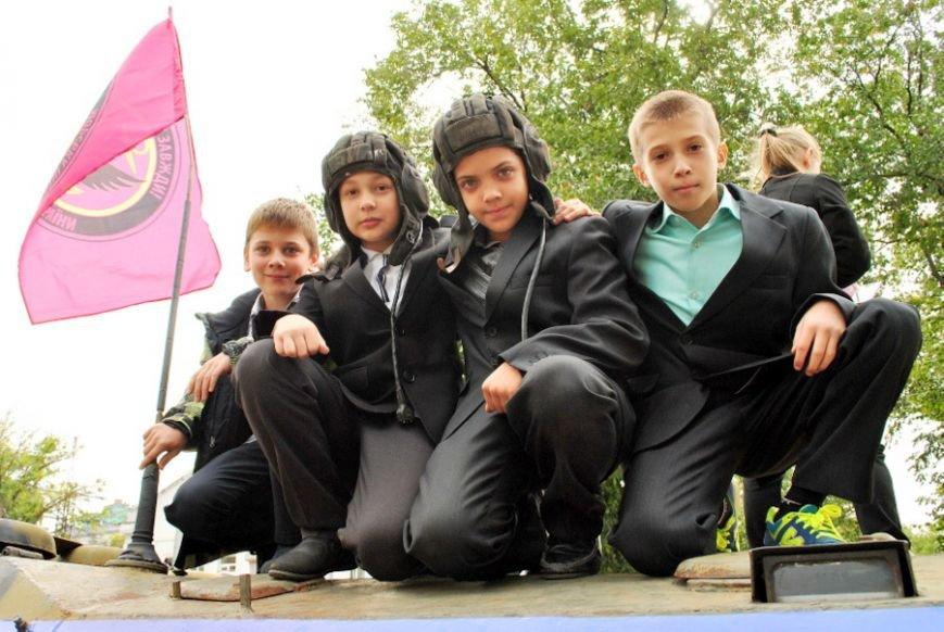 В Николаеве школьники собрали 20 тысяч гривен на ремонт БТРа (ФОТО) (фото) - фото 8