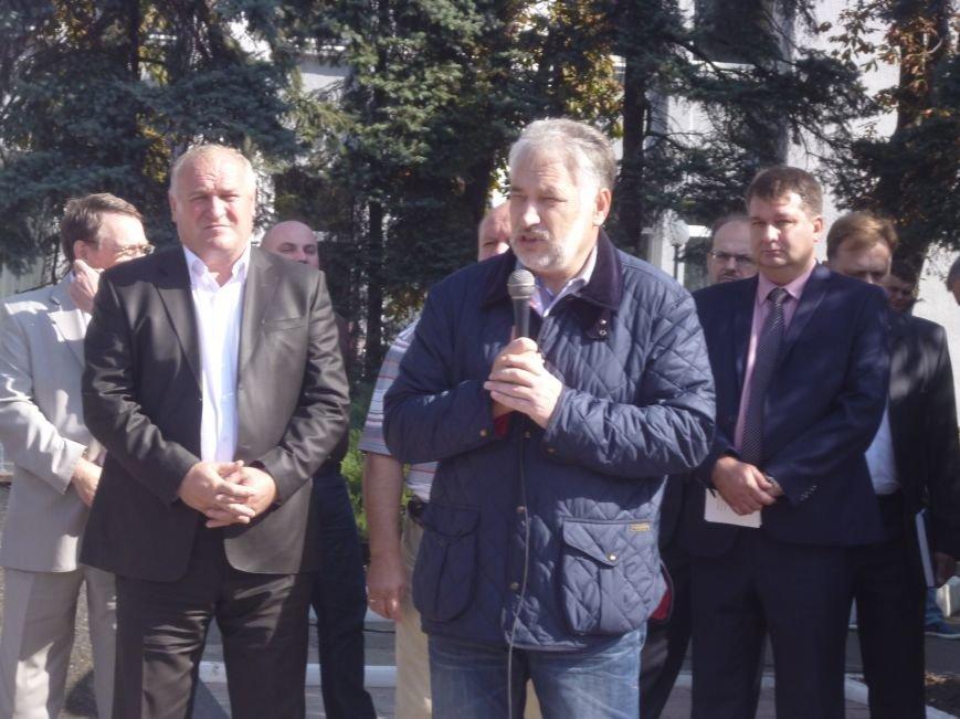 Губернатор на ГП «УК» Краснолиманская»: «Пока обещать ничего не буду, но в Министерстве и с Президентом предстоит серьезный разговор» (фото) - фото 4