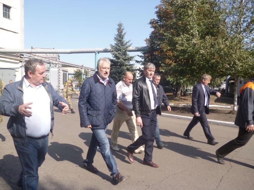 На ГП «УК» Краснолиманская» провели для Павла Жебривского наземную экскурсию по предприятию (фото) - фото 1